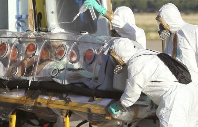 APTOPIX Spain Ebola