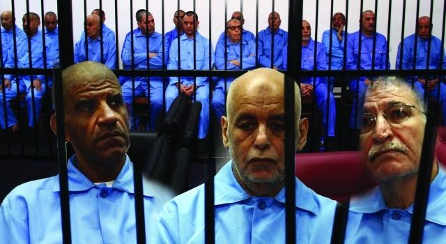 محاكمة رموز النظام الليبي