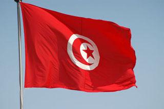 DRAPEAU TUNISIEN0000