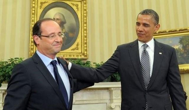 هولاند واوباما: نفضل الحل الدبلوماسي لازمة سوريا