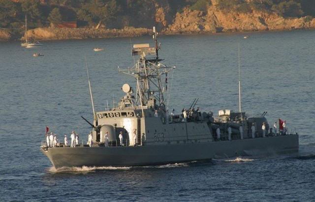 البحرية التونسية