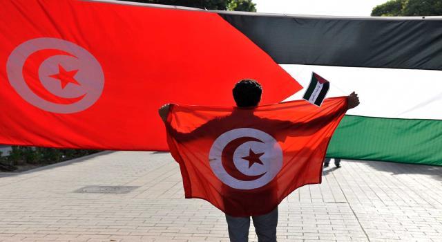 تونس - فلسطين