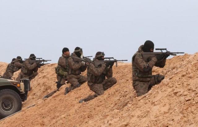 الجيش على الحدود الليبية