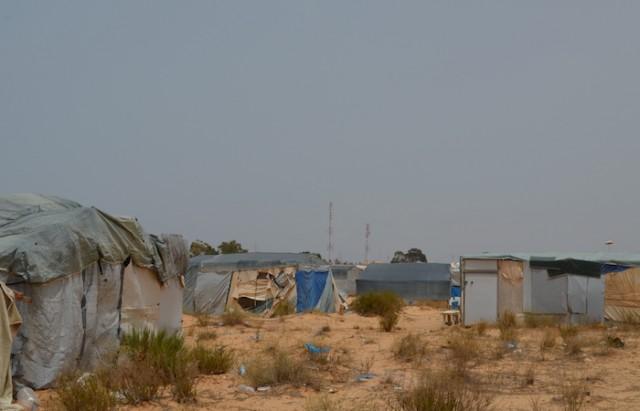 مخيم الشوشة جوان 2016