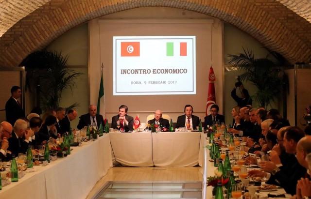 رجال اعمال - تونس - ايطاليا
