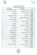 جدول البرامج البلدية000