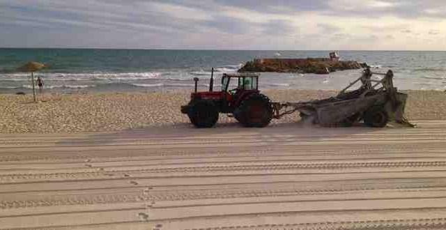 تنظيف الشواطئ