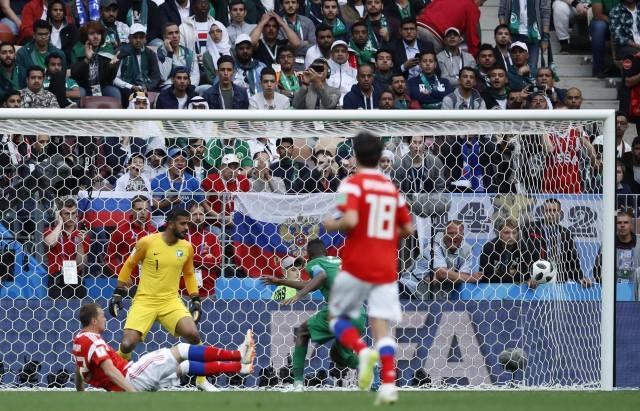Russia Soccer WCup Russia Saudi Arabia