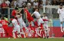 Russia Soccer WCup Tunisia England