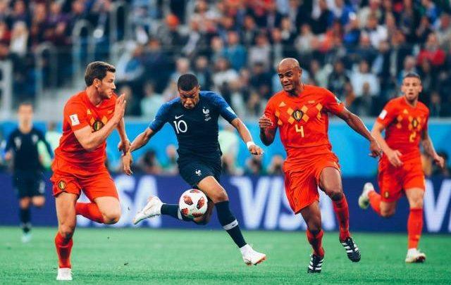 لقاء فرنسا - بلجيكيا