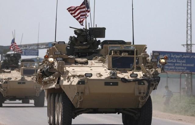 القوات الامريكية في سوريا