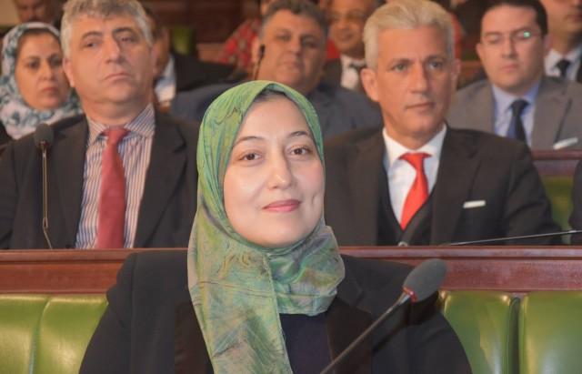 سيدة الونيسي في مجلس النواب
