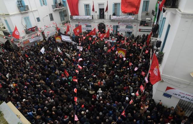 TUNISIA-REVOLUTION-ANNIVERSARY