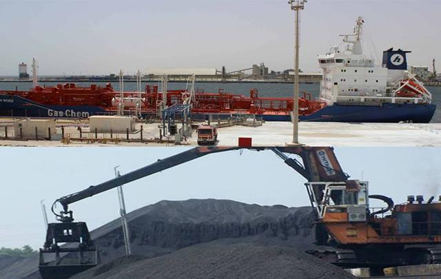 الفحم البترولي - قابس