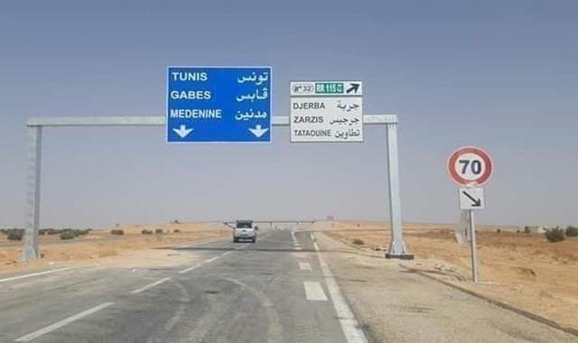 الطريق السيارة مدنين بن قردان