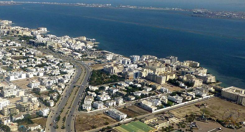 ضفاف البحيرة بتونس