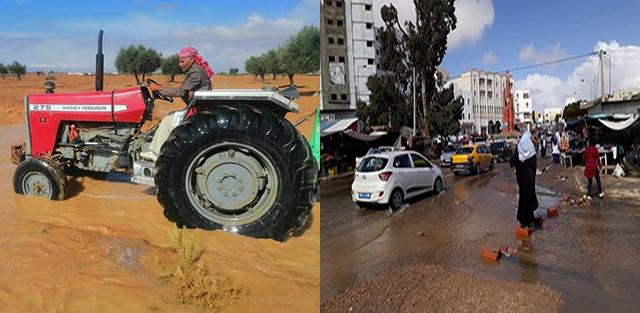 مدنين-امطار-بنية