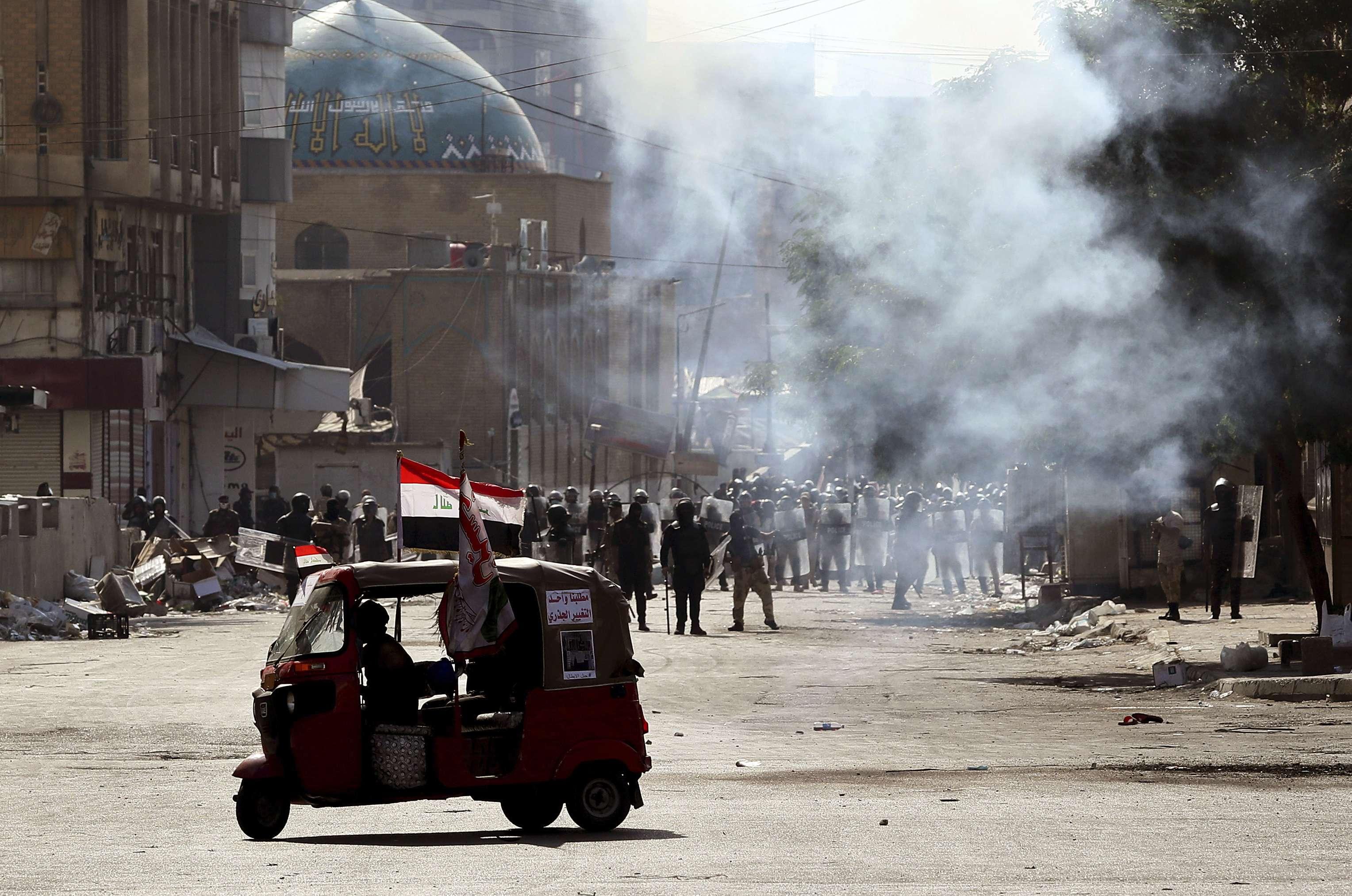اختجاجات العراق