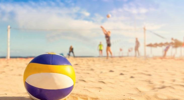 الكرة الطائرة الشاطئية