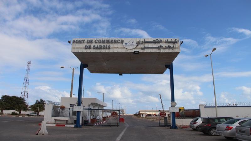 الميناء التجاري بجرجيس