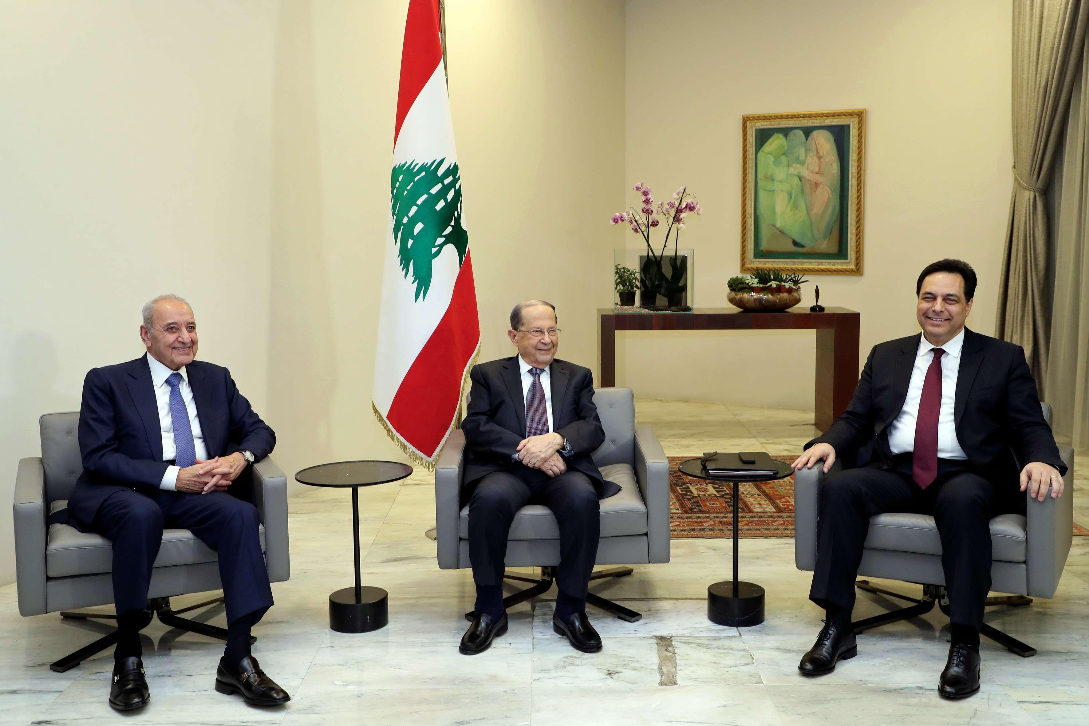رؤساء لبنان