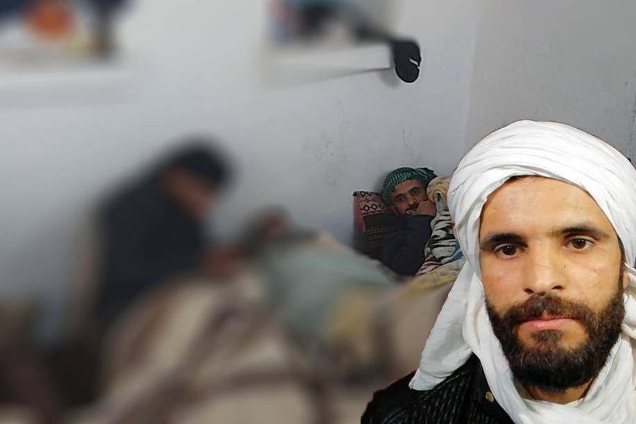طارق الحداد في اضراب جوع