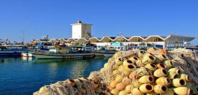 ميناء الصيد البحري-جرجيس