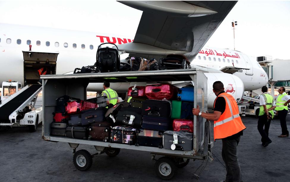 تحميل الامتعة مطار قرطاج