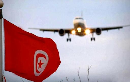 رحلة جوية تونس