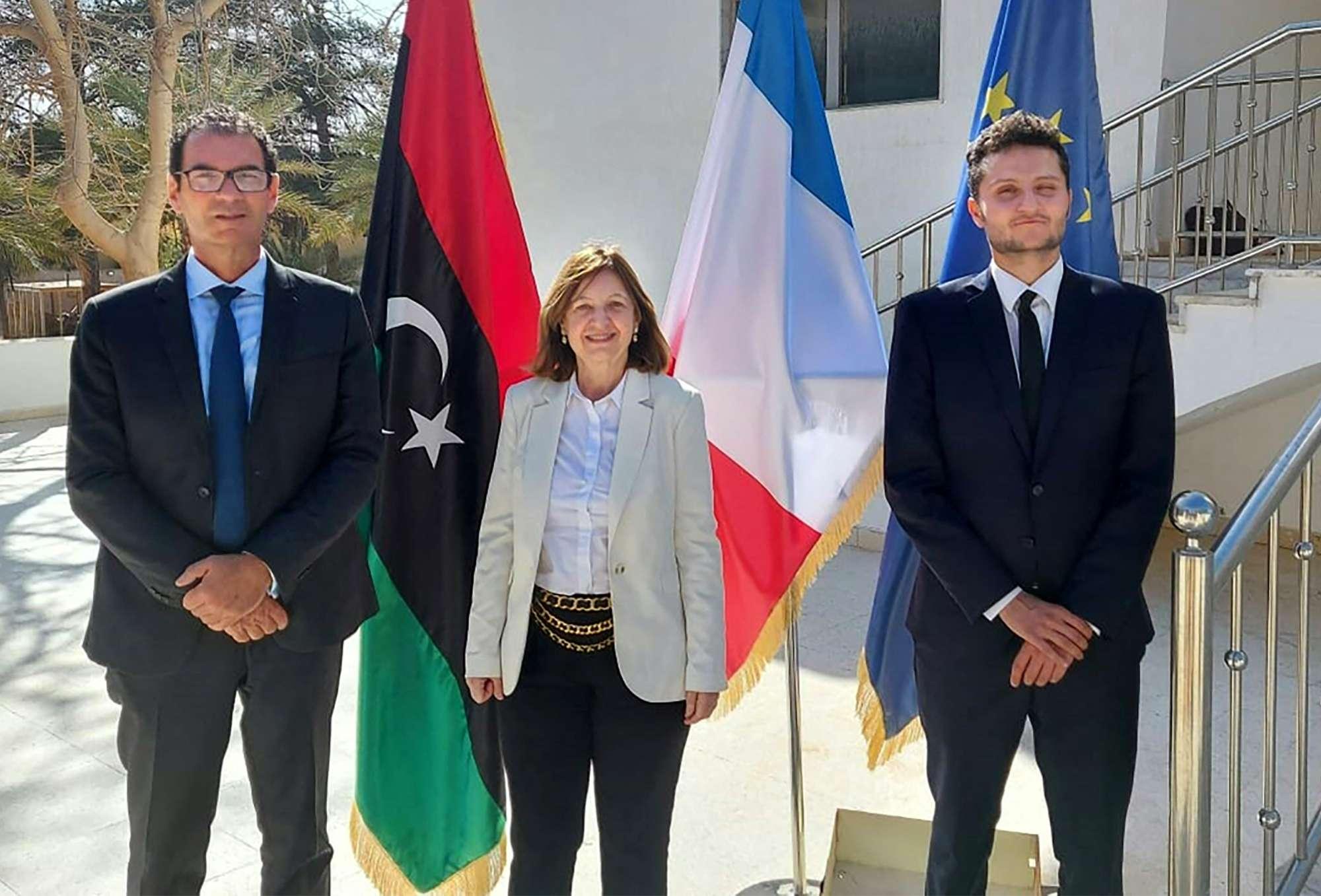 سفارة فرنسا في ليبيا